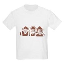 Three monkeys Kids T-Shirt