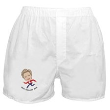 Run Hillary Run Boxer Shorts