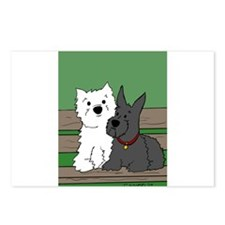 Westie and Scottie Postcards (Package of 8)
