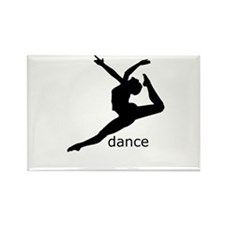 dance Rectangle Magnet (10 pack)