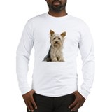 Yorkie Sitting Pretty Long Sleeve T-Shirt