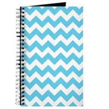 Big Chevron (Blue) Pattern Journal