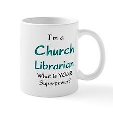 church librarian Mug