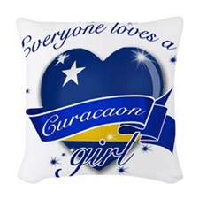 curacao Woven Throw Pillow