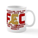 Communism and Censorhsip Mug