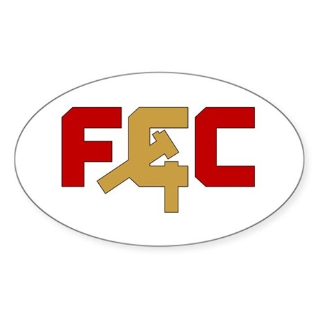 "The ""FCC"" Oval Sticker"