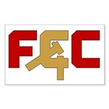 "The ""FCC"" Rectangle Decal"