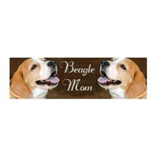Beagle Dog Mom  Wall Decal