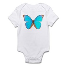 Turquoise Butterfly Infant Creeper