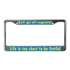 Life is 2 Short License Plate Frame