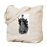 Bat Girl Tote Bag