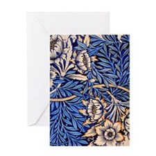 William Morris design: Tulip and Wil Greeting Card