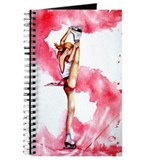 Red Streak Figure Skate Journal