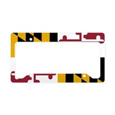 2000px-Flag_of_Maryland_svg License Plate Holder