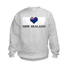 New Zealand heart Sweatshirt