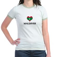 Maldives heart T