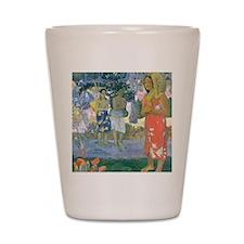 iPad Gauguin Mary Shot Glass