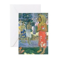 Journal Gauguin Mary Greeting Card