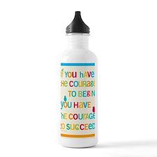 Courage_14x22_HI Water Bottle