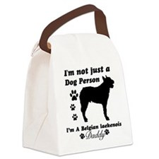 Belgian laekenois-daddy Canvas Lunch Bag
