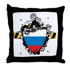 djRussia1 Throw Pillow
