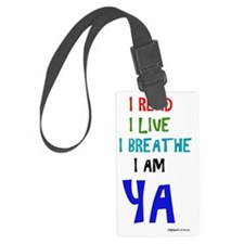 Young Adult Readers Luggage Tag