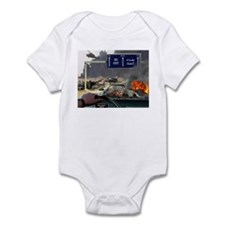 NO Exit from Iraq Infant Bodysuit