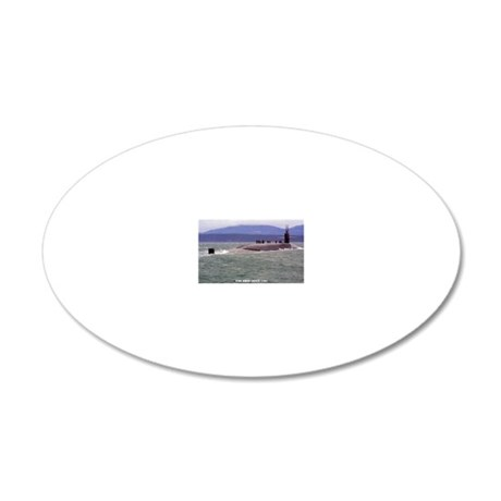 ohio ssgn rectangle magnet 20x12 Oval Wall Decal