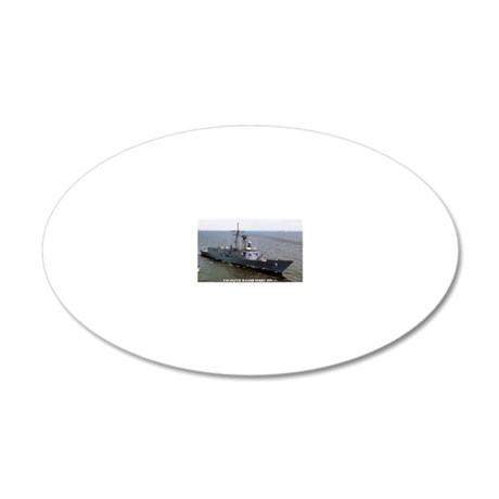 ohperry rectangle magnet 20x12 Oval Wall Decal