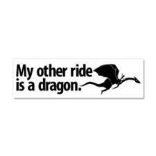 Unique Dragon Car Magnet 10 x 3