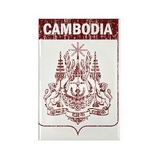 Cambodia7 Rectangle Magnet