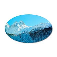 Switzerland 35x21 Oval Wall Decal