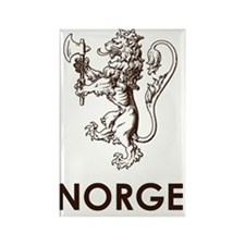Norge1 Rectangle Magnet