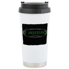 mr anderson Ceramic Travel Mug