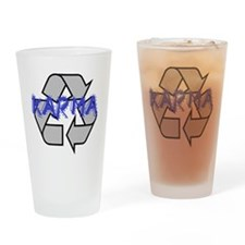 Karma Drinking Glass