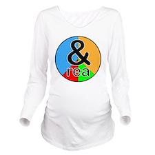 rea Long Sleeve Maternity T-Shirt