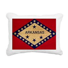Arkansastex3tex3-paint Rectangular Canvas Pillow