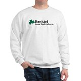 Ezekiel is my lucky charm Sweatshirt