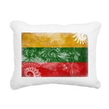 Lithuania textured Craze Rectangular Canvas Pillow