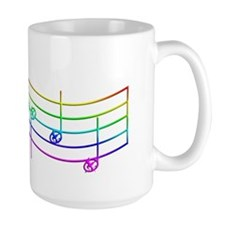 Rues WhistleRainbow Large Mug