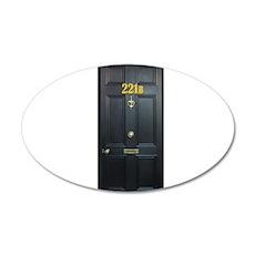 221B Door Wall Decal