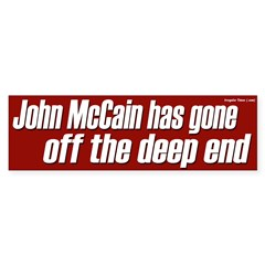 John McCain has gone off the deep end