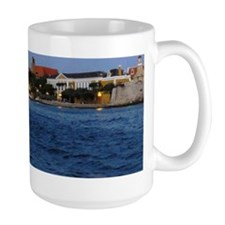 Curacao Skyline At Dusk10 Mug
