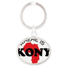 Where is Kony 1 Oval Keychain