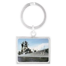 parsons ddg rectangle magnet Landscape Keychain