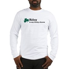Riley is my lucky charm Long Sleeve T-Shirt