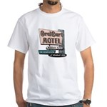 Coral Court Motel White T-Shirt