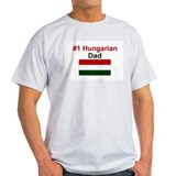 #1 Hungarian Dad T-Shirt