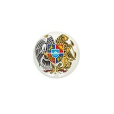 armenia_coa_n16 Mini Button
