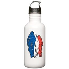 bike france dark Water Bottle
